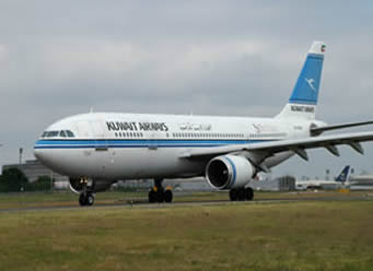kuwaiti airways A300 Airliner