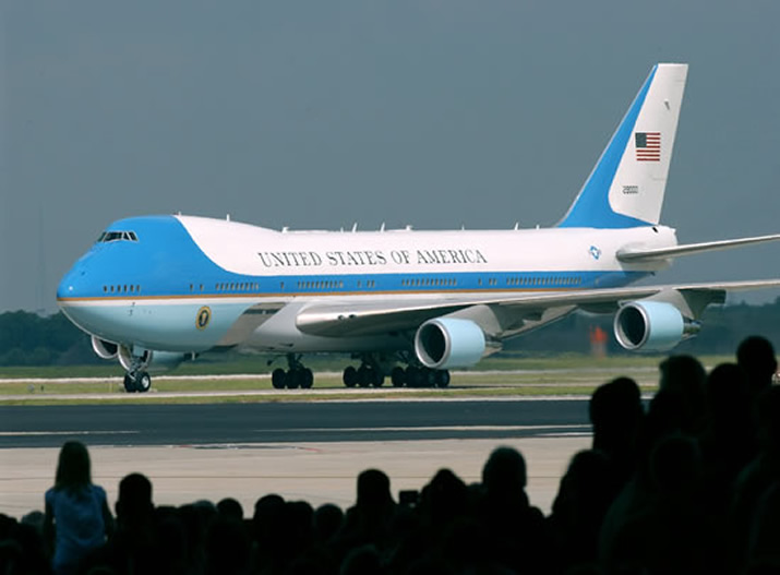 Presidential Boeing 747 Air Force One