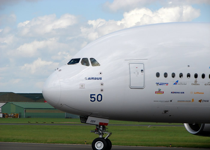 Airbus Aircraft A380 Exterior Left Nose Picture