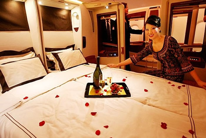 Luxury Interior Design for Airline-interior  airliner on Airbus A380