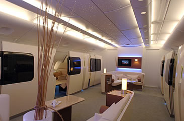 Singapore Airlines Airbus A380 Interior Aircraft Picture
