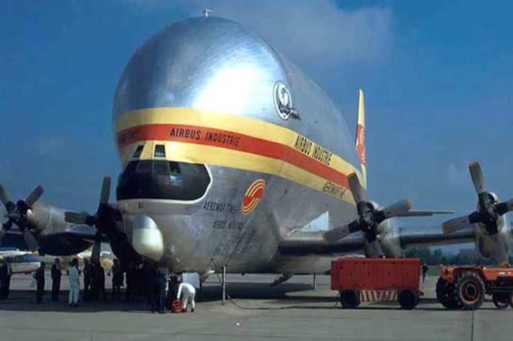 airbus super guppy with turboprops instead of jet engines