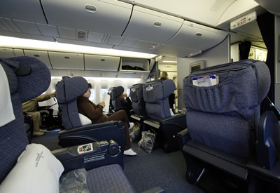 business first class seats