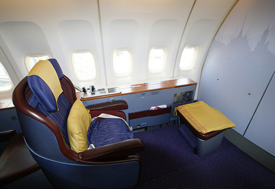 airline first class seats