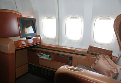 private jet aircraft seats