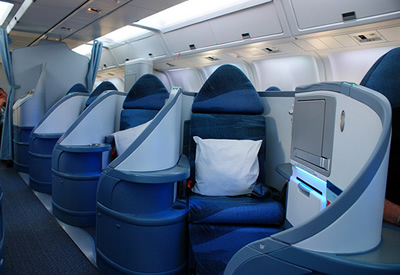sleeper airline seats