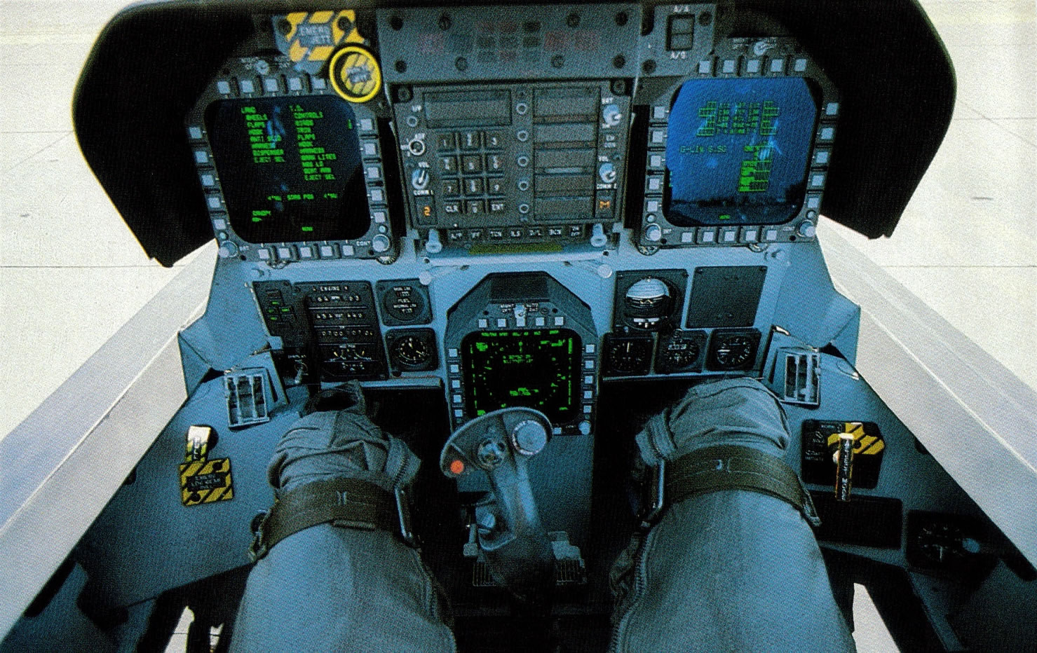 F 18 Cockpit Military - Airliner - ...