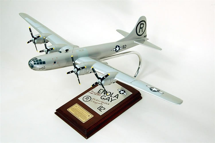 B-29 Enola Gay Signed by Captain Theodore Dutch Van Kirk & 2nd Lieutenant Morris R. Jeppson