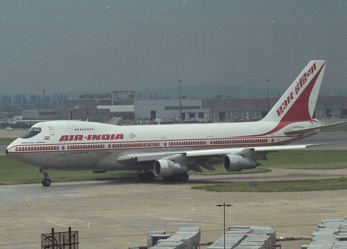 boeing 747 air-india airlines