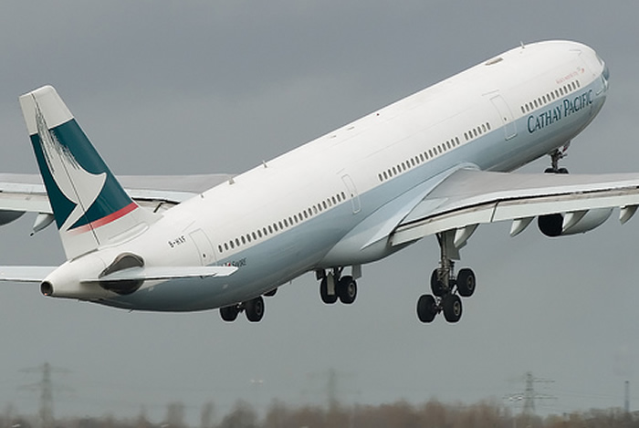Cathay Pacific Airbus A340