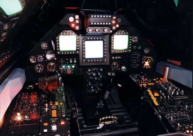 f-117 stealth cockpit photo
