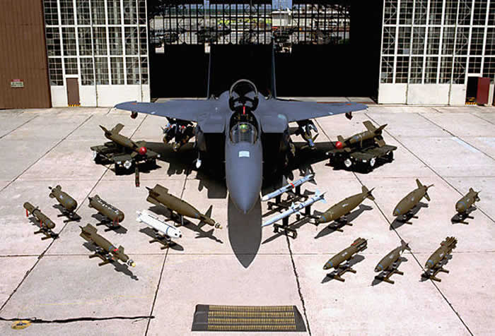 f15 with all armament load