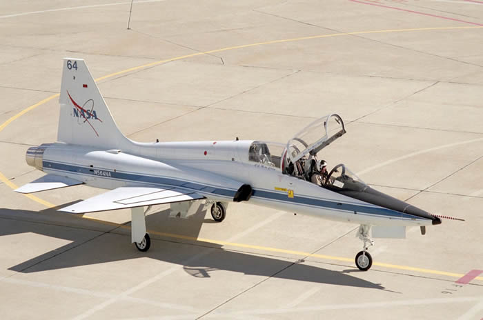 NASA T-38 Test Aircraft