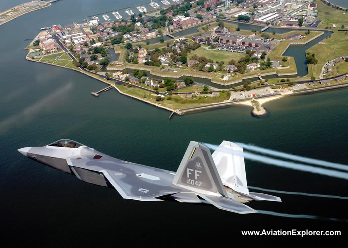 USAF F-22 Raptor Jet Fighter