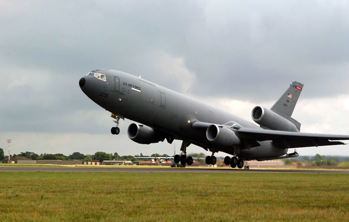 USAF KC-10 Takeoff photo