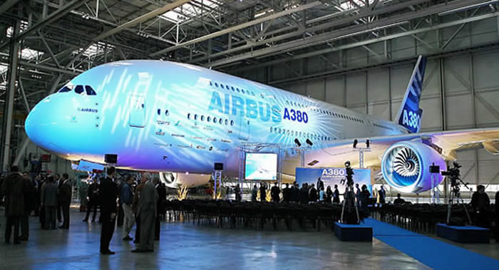 airbus a380: first release picture