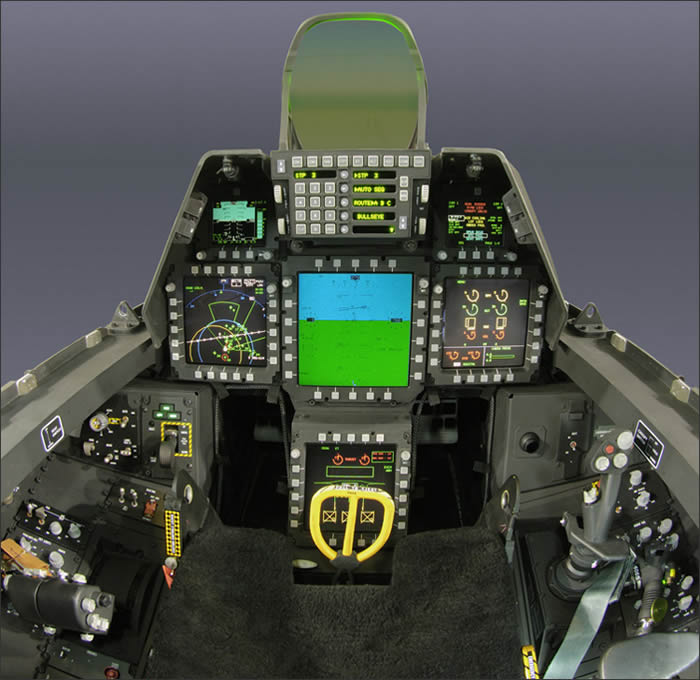 f22 raptor cockpit photo