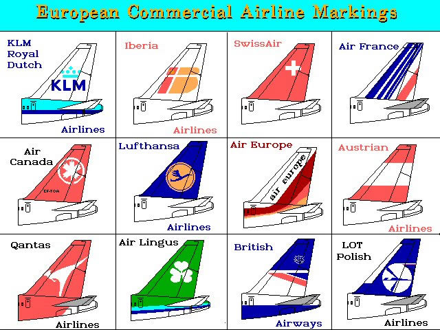 Major Airline European commercial airline