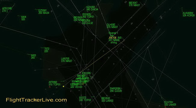 Live Aircraft Flight Tracking