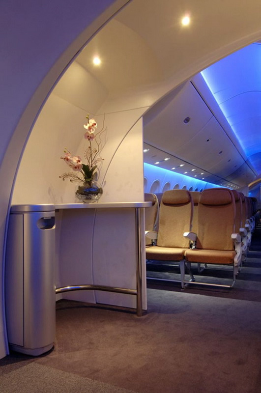 Boeing 787 dreamliner airliner aircraft boeing 787 first for Interior 787 dreamliner