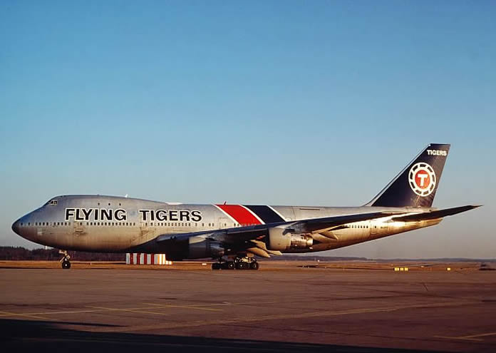 flying tigers boeing 747