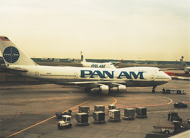 Pan Am new paint on a boeing 747