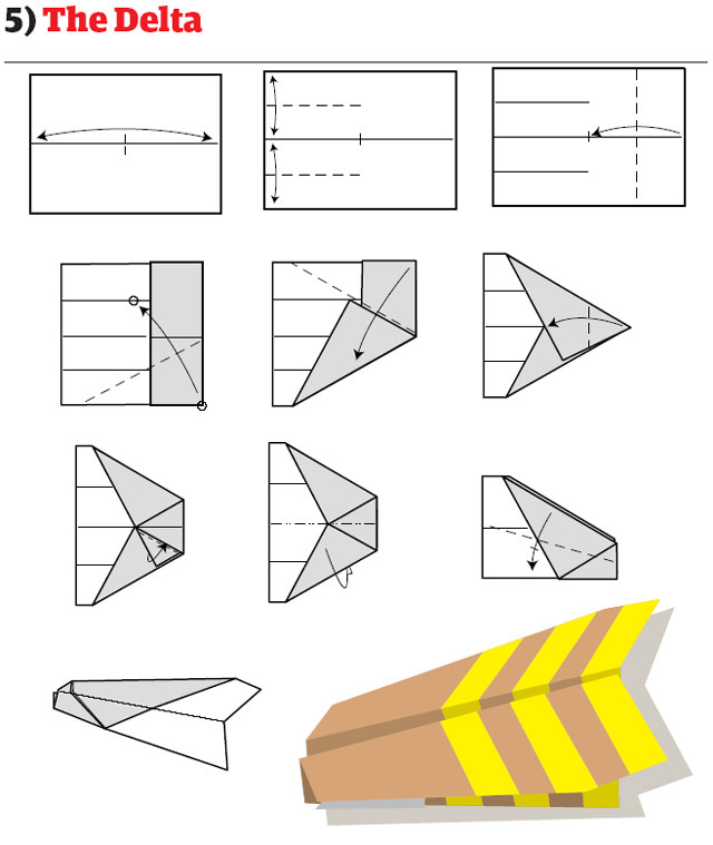 Paper Airplanes - How To Fold And Create Paper Airplanes That Fly