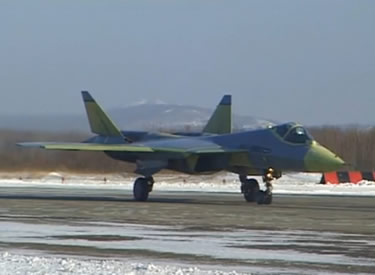 sukhoi t-50 stealth russian jet