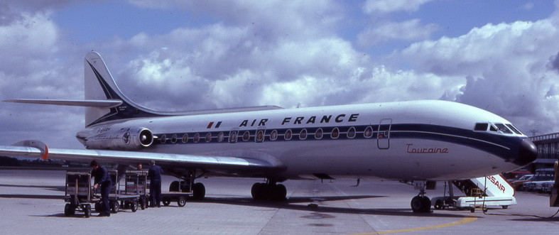 Air France Sud Caravelle Aircraft