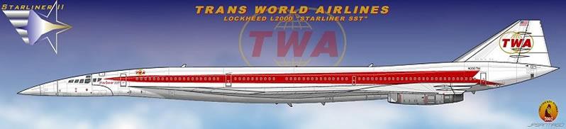 Twa American Livery as Twa Was an American
