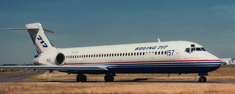 boeing 717 aircraft history and facts rh aviationexplorer com