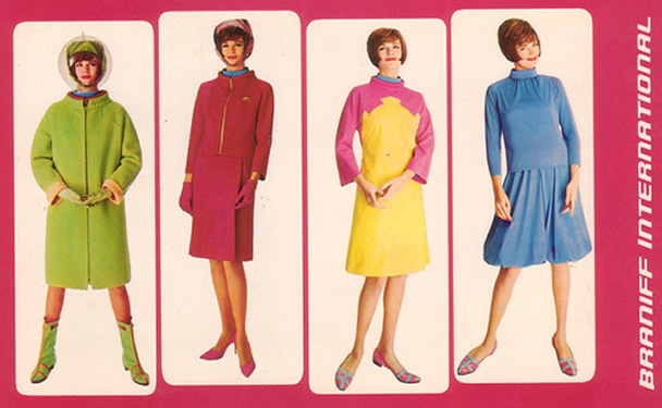 Hot Sexy Braniff International Stewardesses