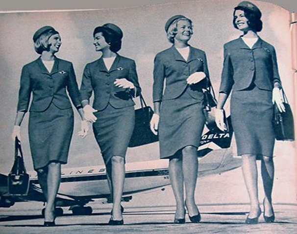 Delta airlines stewardess image