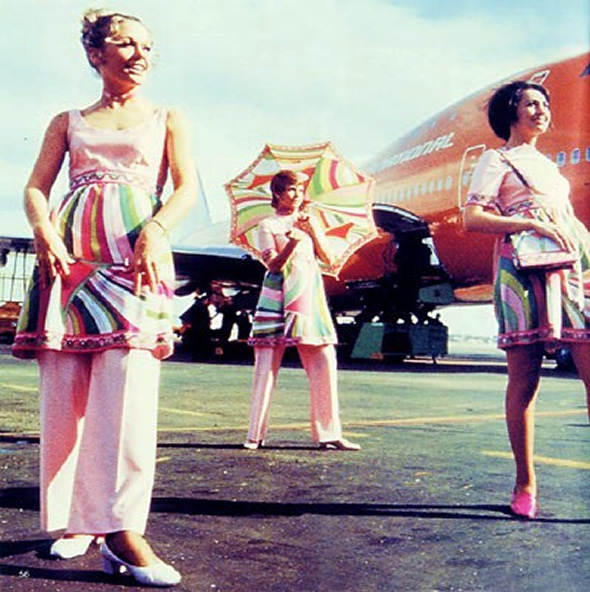 Braniff Stewardess Picture