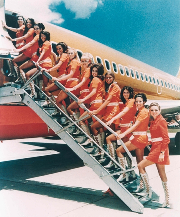 sexy stewardess girls for southwest airlines