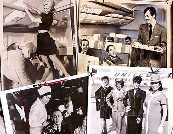 united airlines stewardess pic