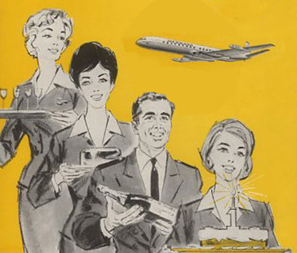 pan am ad from the 60's