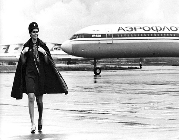 aeroflot Stewardess Photo