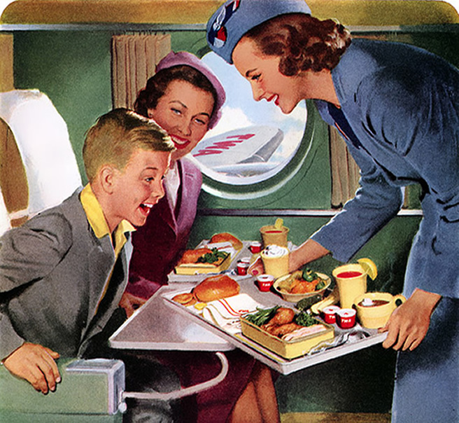 TWA Stewardess Photo