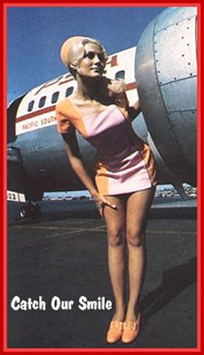 PSA airlines Stewardess