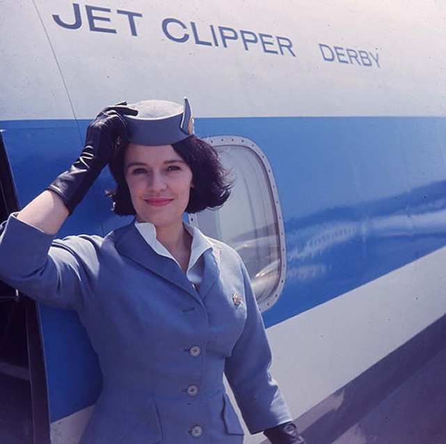Pan American PANAM airlines Stewardess Pictures