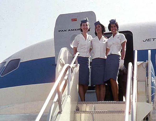 PANAM airlines Stwardess Pictures