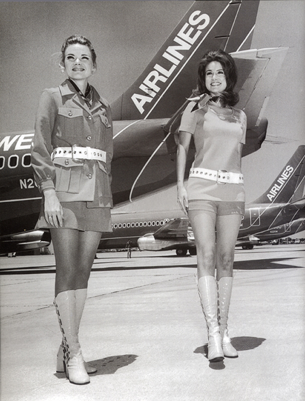 southwest airlines stewardess