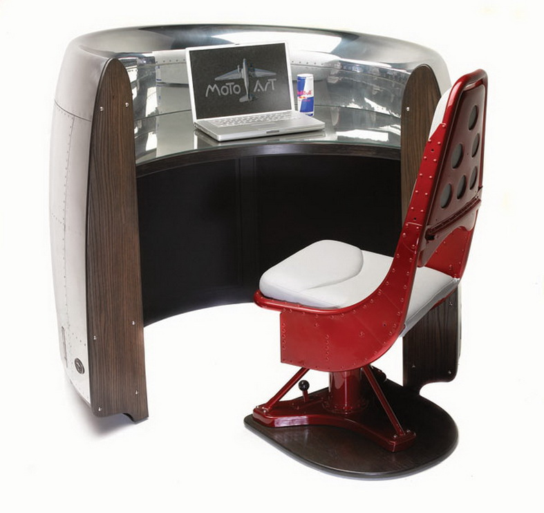 aircraft furniture desk