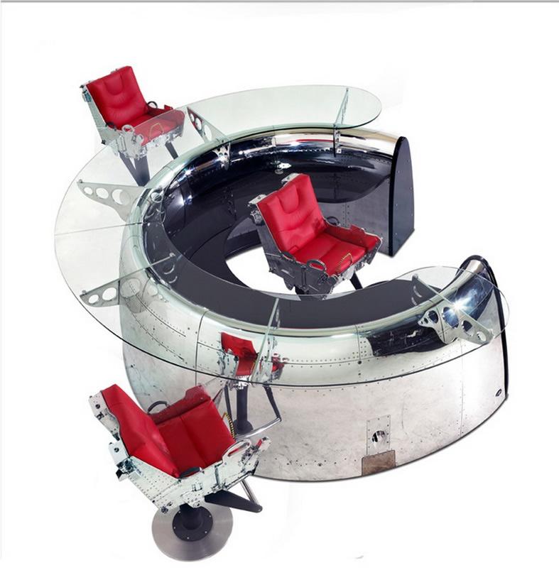 Airplane Furniture - Aircraft Desks, Beds, Lighting ...