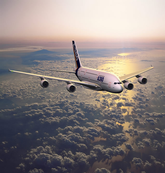Airbus A380 In Flight Picture