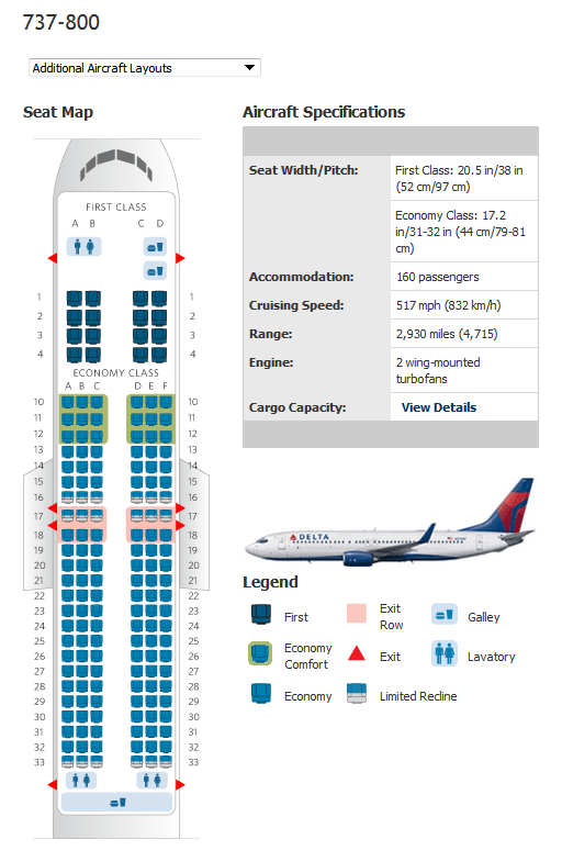 Seating Plan Boeing 737 800 Related Keywords Seating