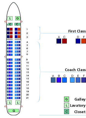 Us Airways Airlines Aircraft Seatmaps Airline Seating Maps