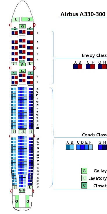 Us Airways Airlines Aircraft Seatmaps Airline Seating