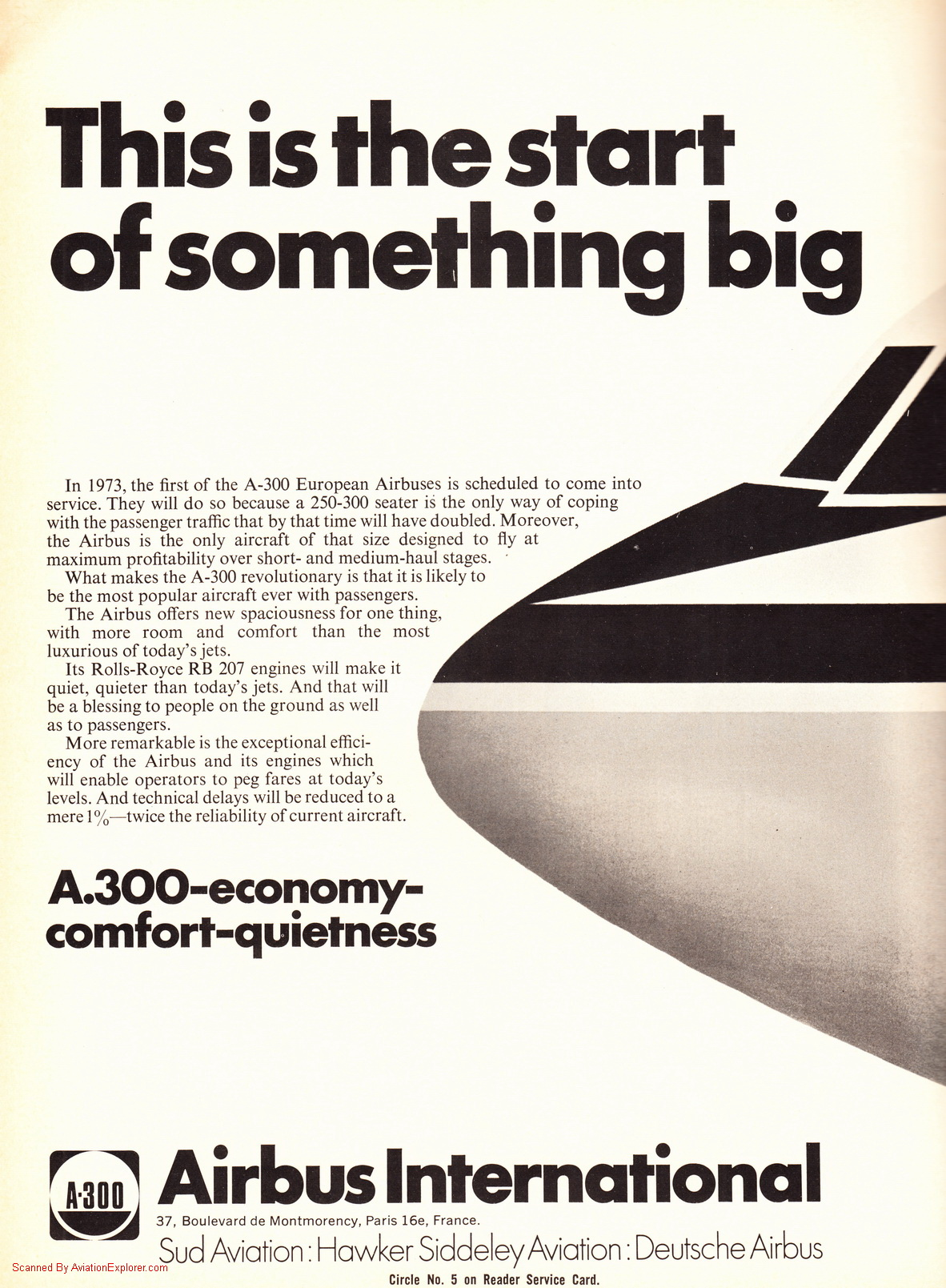 Vintage Airline Aviation and Aerospace Ads - airbus-a300-ad ...